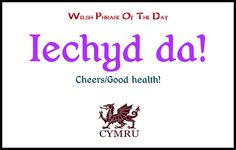 Welsh phrase of the day: roughly pronounced la-key da--la and da rhyme with fa Welsh Phrases, Welsh Words, Cardiff Wales, Wales Uk, Learn Welsh, Welsh Language, Norwegian Vikings, Phrase Of The Day, Cymru