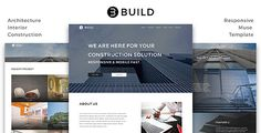 Build_Architecture / Interior / Construction Muse Template
