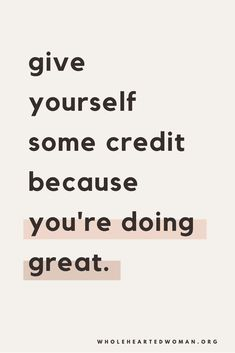 You're doing great! Don't forget!