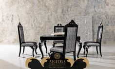 ALGEDRA Trading & Furniture is specialized in providing modern, classic Turkish & Italian furniture for residential and commercial projects. Dining Room Furniture, Dining Chairs, Dining Table, Italian Furniture, Classic, Modern, Home Decor, Derby, Trendy Tree