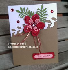 Craftin' Zone: Botanical Birthday