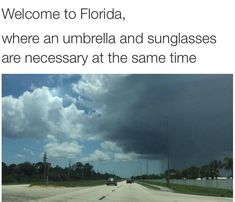 It's fun to be a Floridian Florida Quotes, Florida Funny, Florida Girl, Florida Humor, Florida Living, Stupid Funny Memes, Funny Posts, Funny Stuff, Funny Things
