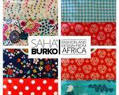 "Bavoirs ""BAFOUSSAM"" (Cameroun) SAHA BURKO = Fashion and Design from AFRICA"