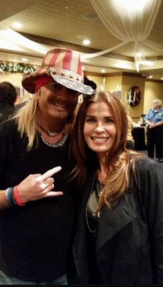 Kristian Alfonso and Bret Michaels #Celebs #celebrities