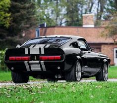 Rat Rods, Muscle Cars, 1968 Mustang, Shelby Mustang, Mustang Fastback, Auto Retro, Ford Classic Cars, Car Covers, Car Wheels