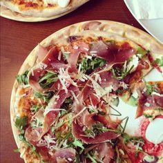 rucola pizza