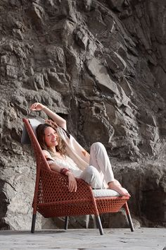 DEDON Ahnda lounge chair