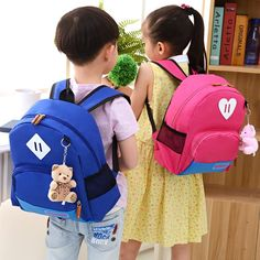 $17.30 (Buy here: https://alitems.com/g/1e8d114494ebda23ff8b16525dc3e8/?i=5&ulp=https%3A%2F%2Fwww.aliexpress.com%2Fitem%2FNew-2016-Fashion-Brand-Cartoon-Dogs-Cute-Bear-Girls-School-Bags-Girls-Boys-School-Backpacks-Kids%2F32690941863.html ) 2016 New Children School Bags For Girls Boys High Quality Children Backpack In Primary School Backpacks Mochila Infantil Zip for just $17.30