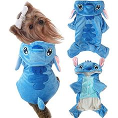 PET Family Pet Dog Cat Clothes 4 Legs Cotton Puppy Hoodies Coat Sweater Costumes Dog Jacket Winter Sweatshirt Warm Sweater (Blue XL) * You can get more details by clicking on the image. (This is an affiliate link) #Dogs