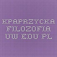 kpaprzycka.filozofia.uw.edu.pl: Self Taught Logic, A workbook