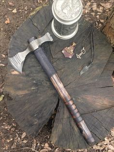 Axe Tomahawk Mace leather works