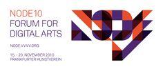 NODE Forum for Digital Arts Corporate Identity Corporate Design, Corporate Identity, Art Logo, Digital Art, Design Inspiration, Logos, Board, Layout Inspiration, Brand Identity