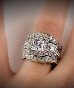 That's a diamond ring! Lol