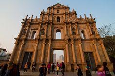 Ruins of St.Paul in Macau