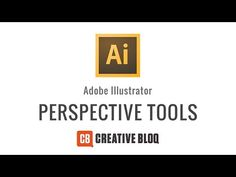 Illustrator: How to use the Perspective Tool