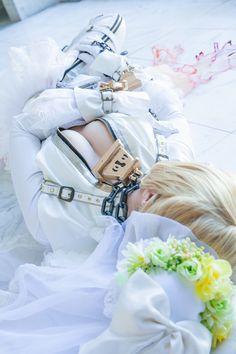 Fate, Saber, Saber Bride, うさ吉, usakichi, うさよし本舗(@xx_usakichi), Photo by Flameworks(http://www.flameworks7.jp/),