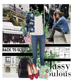 """""""Back to School: Fall Jackets"""" by andreachoran ❤ liked on Polyvore"""