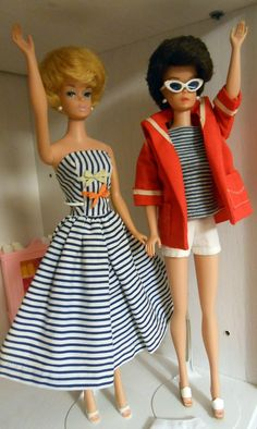 Vintage Barbie Buble Cut Dolls came after the ponytail blonde barbies. You couldnt keep them in the store for all the sell outs in record time.