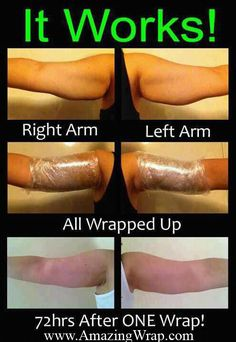 I know it sounds insane, but it works. You can put these wraps anywhere.