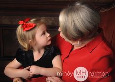 We loved capturing the bond between these two.  A special session!  Call the studio to book your session 281-296-2067 or online at mindyharmon.com #mhp #mindyharmon #thewoodlandsphotographer  #makingmemories #grandmother #grandchildren #holidayportraits