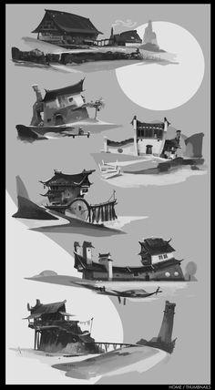 Bordertown/Home/Thumbnails by alantsuei.deviantart.com on @deviantART