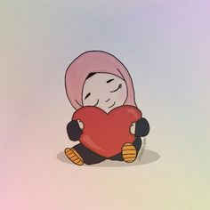 Paros, Emoji Symbols, Anime Muslim, Hijab Cartoon, Cute Love Cartoons, Galaxy Wallpaper, Cartoon Art, Fashion 2020, Cute Wallpapers