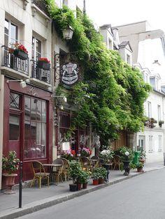 Au Vieux #Paris ,France Reminds me of lower Johnson St. Victoria, BC Canada