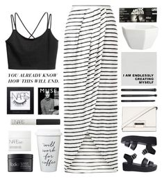 """""""Untitled #2442"""" by tacoxcat ❤ liked on Polyvore featuring New Look, Nude, BCBGMAXAZRIA, Japonesque, CB2, NARS Cosmetics, Rodial and Murphy"""