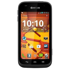Kyocera Hydro EDGE No-Contract Smartphone - Boost