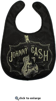 johnny cash bib