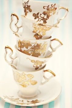 This lady's photo is beautiful.  Love all the gold! 5x7 Tipsy Tea by FlyWithMe on Etsy.