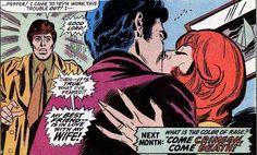 Iron Man & Pepper Potts-eh, get rid of Happi and everything's peachy! Marvel Comic Books, Marvel Comics, Pepper Potts, Best Couple, Tony Stark, Romance Books, Marvel Universe, Iron Man, I Am Awesome
