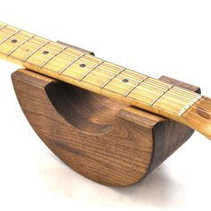 Randall Custom Guitar Neck Support-I think I am going to use my router and circle cutting jig to make one of these.