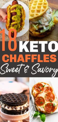 Easy keto chaffle recipes that are sweet and savory for breakfast with almond flour with cream cheese as dessert and more! Low carb keto chaffles make the BEST keto dinner snack breakfast or lunch. Keto Foods, Ketogenic Recipes, Diet Recipes, Healthy Recipes, Ketogenic Diet, Shrimp Recipes, Protein Recipes, Lunch Recipes, No Carb Dinner Recipes