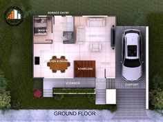 Spectacular Two-storey House Design with Impressive Interior - House And Decors Gate Designs Modern, Modern Exterior House Designs, Modern House Facades, Modern House Plans, Modern House Design, Two Story House Design, 2 Storey House Design, Two Story House Plans, House Plans 2 Storey