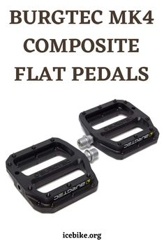 The Burgtec Mk4 Composite Flat Pedals is a concave flat mountain bicycle pedal with a nylon body. It weighs 375g and is bound to get past obstacles. The pins are generally thin, which assists them with burrowing the sole of a shoe. #bikes #roadbikes #mountainbikes #hybridbikes #electricbikes #comportbikes Mountain Bike Pedals, Best Mountain Bikes, Mountain Biking, Road Bikes, Concave, Gears, Composition, Gear Train, Being A Writer