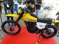 Ducati Scrambler Custom, Enduro Motorcycle, Motorcycle Camping, Cafe Racer Motorcycle, Cool Motorcycles, Vintage Motorcycles, Enduro Vintage, Biker Love, Retro Bike