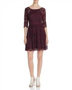 48.58$  Buy now - http://vieew.justgood.pw/vig/item.php?t=h3u6n63489 - cupcakes and cashmere Geneva Scallop Lace Dress