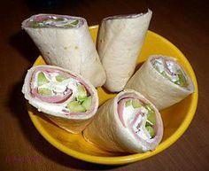 Healthy Wraps, Healthy Recipes, Sandwich Wrap, Tapas Party, Pizza Burgers, Think Food, Bruchetta, Some Recipe, Fajitas