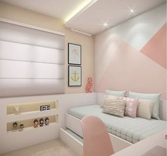 Discover more inspirations for interior design of kid's bedrooms with Circu Magical furniture: CIRCU. Cute Bedroom Ideas, Room Ideas Bedroom, Girl Bedroom Designs, Small Room Bedroom, Home Decor Bedroom, Paris Room Decor, Teen Room Decor, Bedroom Decorating Tips, Aesthetic Room Decor