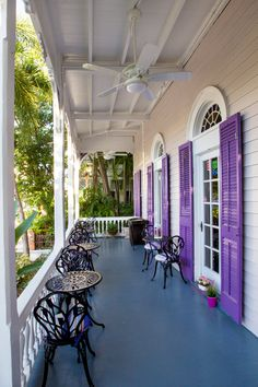 Marrero's Guest Mansion's Front Porch