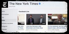 #Facebook paga i giornali per i suoi Live #giornalismo