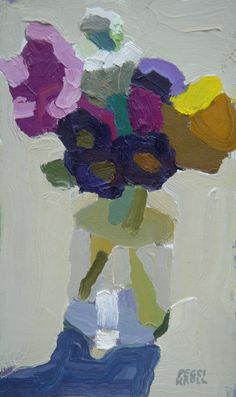 ❀ Blooming Brushwork ❀ - garden and still life flower paintings - Peggy Kroll Roberts Abstract Flowers, Abstract Art, Paintings I Love, Flower Paintings, Still Life Art, Arte Floral, Flower Art, Life Flower, Art Flowers