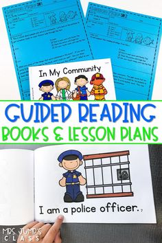 You will love using these guided reading books in your classroom! Lesson plans with planned activities and resources will make your life easier. Oh, and they are available in printable and digital format!! #guidedreading #leveledtext #digitalbooks #guidingreaders