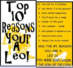 Who is a Leo??