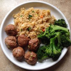 There are so many 21 Day Fix recipes out there, but if you love Asian dumplings, you will love these Asian Meatballs. 5 meatballs equal one red,