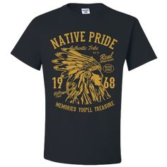 Native Pride Shirts American Clothing T shirts For Men Women Adult Unisex T-Shirt American Apparel, American Clothing, Pride Shirts, Unisex Gifts, Men And Women, Sleeves, Mens Tops, T Shirt, Clothes