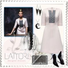 LATTORI by ilona-828 on Polyvore featuring polyvore, fashion, style, Lattori, Avenue, GUESS, Jewel Exclusive, Chanel, dress, polyvoreeditorial and lattori