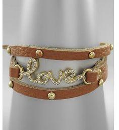 #shopglitzyglam.com #love #Leather #Wrap #Around #LOVE #Bracelet #Brown #Arrivals! #Shop #Glitzy #Glam Leather Wrap Around LOVE Bracelet - Brown - New Arrivals! | Shop Glitzy Glam http://www.seapai.com/product.aspx?PID=1025267