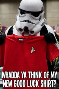 Oh No... Not A Red Shirt??!!